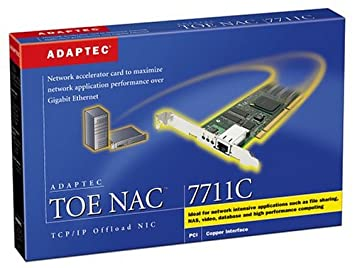 Adaptec 1975700 1Gbps 66MHz Fast Ethernet Network Adapter