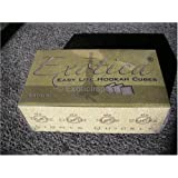 96 PC. Japanese Silver Hookah CHARCOAL COAL ~ Exotica