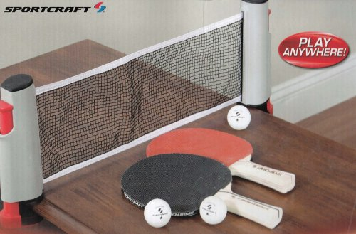 Lowest Price! Sportcraft Anywhere Table Tennis Set