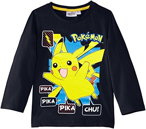 Nintendo-Pokemon-Nh1352-Camiseta-Nios-Blau-Skydiver-Blue-3-aos
