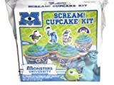 Monsters University Scream Cupcake Kit Disney Pixar Vanilla Makes 8 Cupcakes