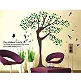 Mother Nature As Tree Jumbo Wall Art Sticker For home Decor