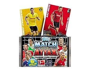 Topps Match Attax Booster 2012/2013 (DE) - 1 Booster mit 5 Spielerkarten
