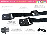 Babbio-Anti-Tip-Safety-Straps-Anchor-Flat-Screen-TV-or-Furniture-to-Wall-Extra-Strong-Metal-Nickel-Effect-Baby-Child-Proof-Seniors-Safety-Earthquake-RV-Protection