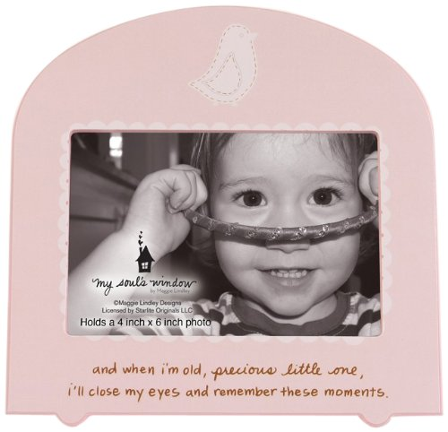 My Soul's Window 4147 Memories Girl Frame, 8-1/4-Inch, Holds 4 by 6-Inch Photo