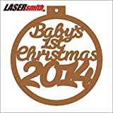 Baby's 1st Christmas 2014 Bauble