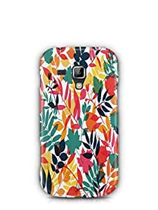 YuBingo Colourful Leaves Mobile Case Back Cover for Samsung Galaxy S Duos