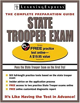 Amazon.com: state trooper study guide: Books