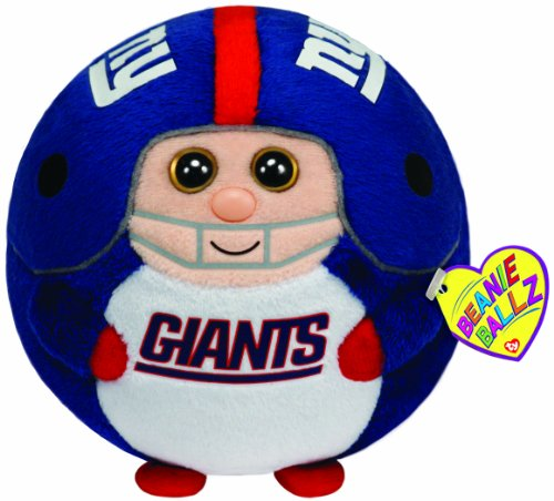 Ty Beanie Ballz New York Giants - Medium at Amazon.com