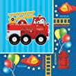 Fire Engine Fun Beverage Napkins 16ct