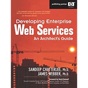 Developing Enterprise Web Services: An Architects Guide (Hewlett-Packard Professional Books)