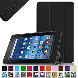 Fintie Fire 7 2015 Slim Shell Case - Ultra Slim Lightweight Standing Cover for Amazon Fire 7 Tablet (will only fit Fire 7