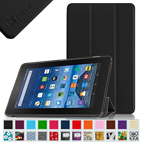 Cheap Fintie Fire 7 2015 Slim Shell Case - Ultra Slim Lightweight Standing Cover for Amazon Fire 7 T...