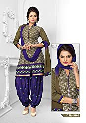Venisa Cambric Cotton Grey Color Salwar Suit Dress Material