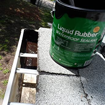 Liquid Rubber Gutter Repair Kit Gutter Repair Kit: Amazon ...