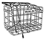 Wald 582 Rear Folding Bicycle Basket (12.75 x 7.25 x 8.5, Black)