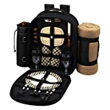 Search : London Picnic Backpack with Picnic Blanket for 2