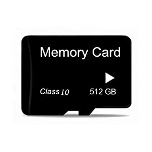 512GB sd Card for Phone Memory Card Stores HD Videos Photos Apps and More 512 Micro sdxc sd Flash Card Cameras Android Smartphones sd 512GB