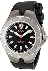 Ebel Men's 1215633 Sportwave Aquatica Black Dial Watch