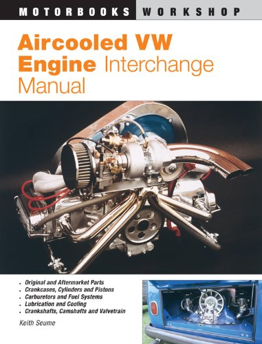 Aircooled Vw Engine Interchange Manual: The User'S Guide To Original And Aftermarket Parts For Tuning (Motorbooks Workshop)