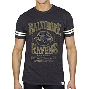 Baltimore Ravens NFL Men's Tailgate T-Shirt Black By Junk Food Clothing from Junk Food Clothing Co.