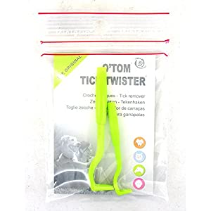 tick twister removal tool the set of 2 includes a large and small tick