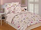 Thro Ltd. Best Friends Twin Comforter Set, Multi