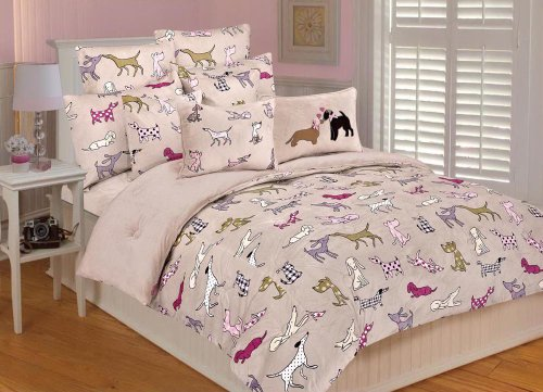 Thro Ltd. Best Friends Comforter Set, Multi