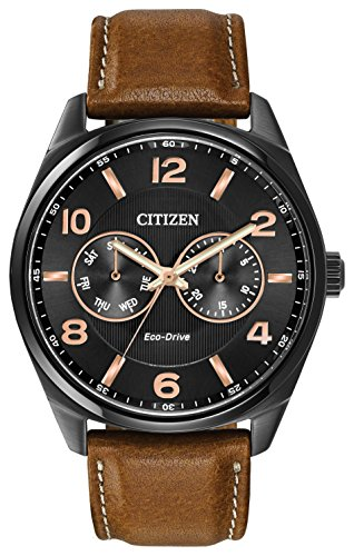 citizen-watch-mens-quartz-watch-with-black-dial-analogue-display-and-brown-leather-strap-ao9025-05e