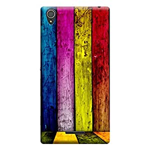 Ebby Premium Printed Back Case Cover With Full protection For Sony Xperia T3 (Designer Case)