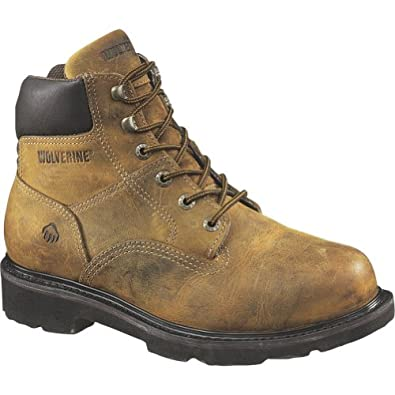 Wolverine Saturn 6in Boot - Men's Distressed Brown, 7.5