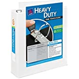 Avery Heavy-Duty View Binder with 3-Inch One Touch EZD Ring, White (79793)