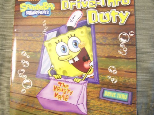 "Spongebob Squarepants Drive-Thru Duty (2010) (8"" x 8"" Paperback) - 1"