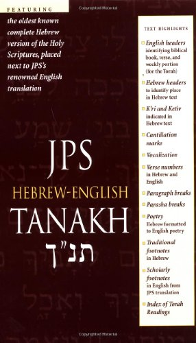 JPS Hebrew-English Tanakh (Hebrew English Old Testament compare prices)