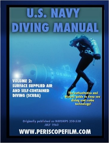 U.S. Navy Diving Manual Volume 2 Surface Supplied Air and Self-Contained Diving (SCUBA) NAVSHIPS 250-538