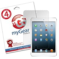 myGear Products LifeGuard Screen Protector Film for iPad Mini - (4 Pack) Clear