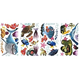 Defonia Finding Nemo 44 Big Wall Decals Kids Bathroom Stickers Room Decor Fish R1