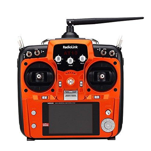 RadioLink-AT10-24Ghz-10CH-10-Channel-Remote-Controller-System-Radio-Transmitter-R10D-Receiver-PRM-01-Voltage-Return-Module-for-DIY-FPV-RC-Helicopter-Quadcopter-Drone-Orange