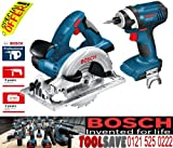 Bosch GDR GKS Dynamic Series Impact Driver and Circular Saw 18V Li-Ion Cordless