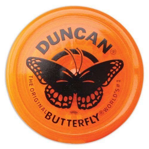 Duncan Yo-Yo Butterfly (Orange)