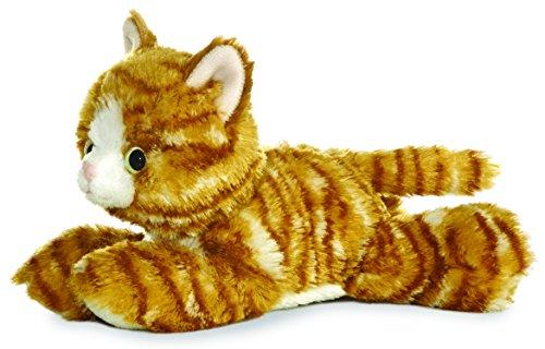 "Aurora Molly Orange Tabby Cat 8"" Mini Flopsie"
