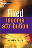 img - for Fixed Income Attribution book / textbook / text book