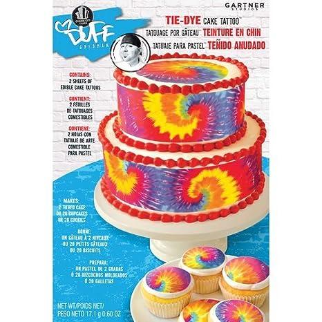 Dye Cake Amazon.com Tie-dye Cake