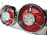 Officek 24V 2連 丸型 赤白 LED ヤンキーテール 左右セット 2連テール