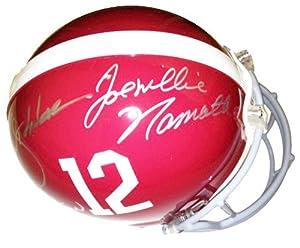 Joe Namath, Bart Starr, Ken Stabler Signed Autographed Authentic Alabama Crimson Tide... by Radtke+Sports
