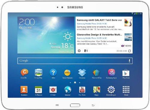 P5200 Galaxy Tab 3 10.1 16GB WiFi + 3G - white