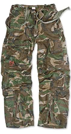 Surplus Infantry Cargo Pantalons Woodland Taille L