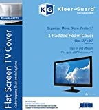 "Kleer-Guard Flat Screen TV Cover. 65""x36"" Fits up to a 60"" Flat Screen TV"