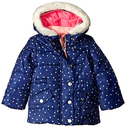 Carter's Baby Girls' Heavyweight System Jacket, Print, 24 Months