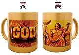 ミリオンゴッド マグカップ [GOD柄]